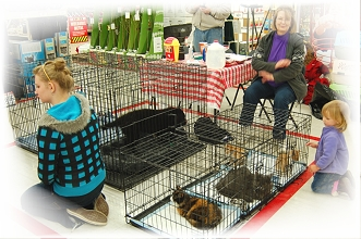 Adoption Day at Tractor Supply