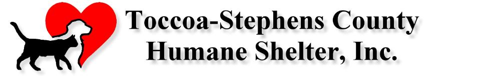 Toccoa Stephens County Humane Shelter